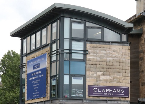 Claphams Solicitors Glasgow