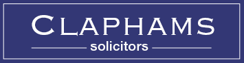 claphams solicitors logo